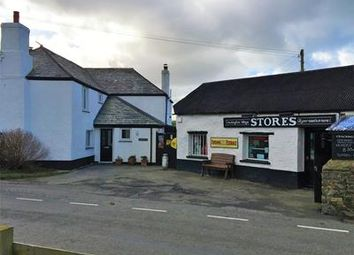 Thumbnail Retail premises for sale in Crackington Village Stores, Crackington Haven, Bude, Cornwall