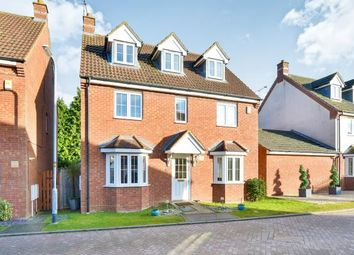 Thumbnail 5 bedroom detached house for sale in Foxholes Close, Deanshanger, Milton Keynes, Northamptonshire