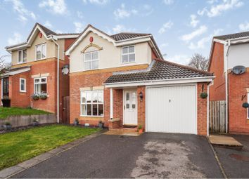 Thumbnail 3 bed detached house for sale in Leyburn Close, Church Gresley, Swadlincote
