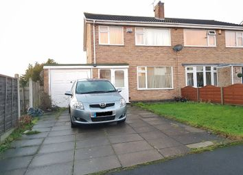 Thumbnail 3 bedroom semi-detached house for sale in Windrush Drive, Oadby, Leicester