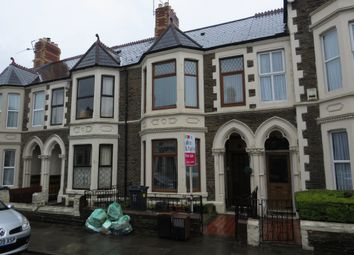 Thumbnail 4 bed terraced house for sale in Montgomery Street, Roath Park, Cardiff
