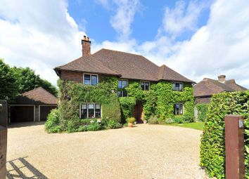 Thumbnail 5 bed detached house for sale in Woodway, Merrow, Guildford
