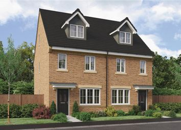 "Thumbnail 3 bed semi-detached house for sale in ""The Tolkien"" At Ladyburn Way, Hadston, Morpeth NE65, Hadston,"