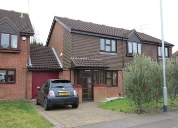 Thumbnail 2 bed semi-detached house to rent in Hilmanton, Lower Earley, Reading