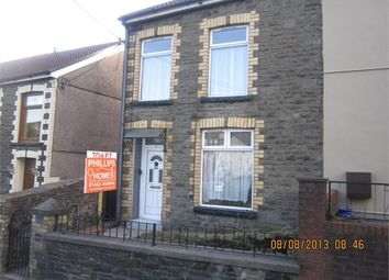 Thumbnail 2 bed end terrace house to rent in Amos Hill, Penygraig, Rhonnda Cynon Taff.