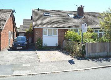 Thumbnail 3 bed semi-detached bungalow for sale in Cedarway, Bollington, Macclesfield, Cheshire