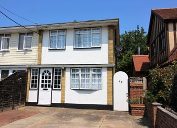 Thumbnail 3 bed semi-detached house for sale in Windermere Avenue, Hockley