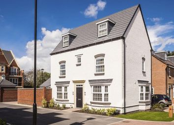 """Thumbnail 4 bed detached house for sale in """"Hertford"""" at Cann Lane South, Appleton, Warrington"""