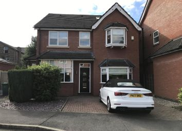 Thumbnail 5 bedroom detached house to rent in Meridian Place, West Didsbury, Didsbury, Manchester