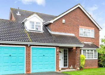 Thumbnail 4 bedroom detached house for sale in Ashdale Park, Wisbech, Cambridgeshire