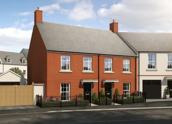 "Thumbnail 3 bed semi-detached house for sale in ""The Harberton"" at Haye Road, Sherford, Plymouth"