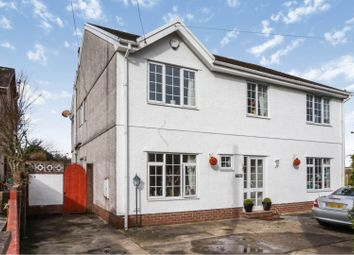 Thumbnail 5 bed detached house for sale in Church Row, Llanmorlais