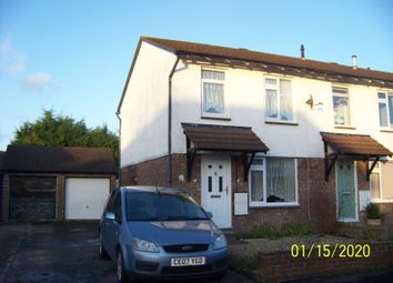 Thumbnail 3 bedroom end terrace house to rent in Canterbury Close, Worle, Weston-Super-Mare