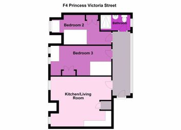 Thumbnail 2 bedroom flat to rent in Princess Victoria Street, Clifton, Bristol