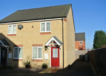 Thumbnail 2 bed semi-detached house for sale in Brooklands Way, Bourne, Lincolnshire