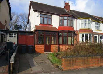 Thumbnail 3 bedroom property to rent in Willow Avenue, Edgbaston, Birmingham