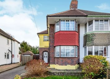 Thumbnail 4 bed semi-detached house for sale in Stoneleigh Park Road, Epsom