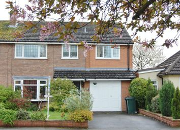 Thumbnail 4 bed semi-detached house to rent in Delaware Avenue, Albrighton, Wolverhampton