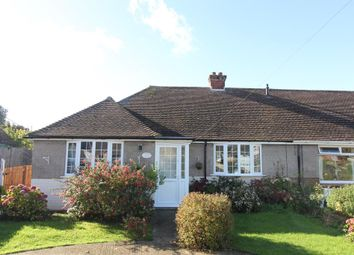 Thumbnail 3 bed semi-detached bungalow for sale in Helena Road, Capel-Le-Ferne, Folkestone