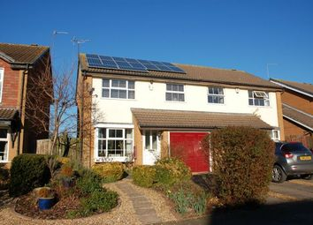 Thumbnail 3 bed semi-detached house for sale in Froxhill Crescent, Brixworth, Northampton