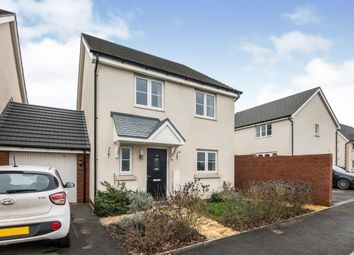 Thumbnail 4 bed link-detached house for sale in Cranbrook, Exeter, Devon
