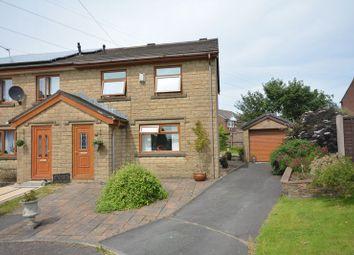 Thumbnail 3 bed semi-detached house for sale in Hazel Grove, Clayton Le Moors, Accrington