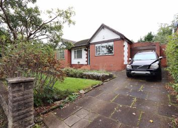 Thumbnail 3 bed bungalow to rent in Delamere Avenue, Whitefield, Manchester