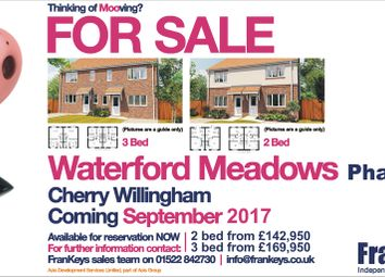 Thumbnail 2 bed semi-detached house for sale in Waterford Meadows, Kingfisher Close, Cherry Willingham