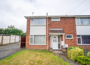 Thumbnail 3 bed semi-detached house for sale in Trinity Road, Whetstone, Leicester