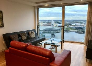 Thumbnail 2 bed flat to rent in City Loft, Salford Quay