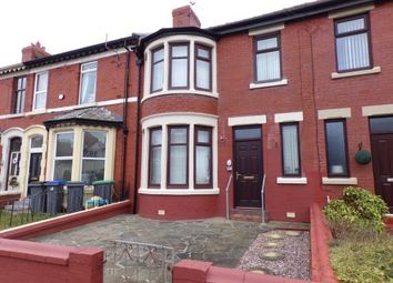Thumbnail 3 bedroom terraced house for sale in Norcliffe Road, Blackpool, Lancashire