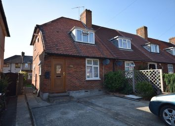 Thumbnail 2 bedroom end terrace house for sale in Valence Avenue, Dagenham, Essex