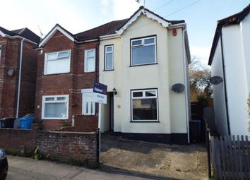 Thumbnail 2 bedroom semi-detached house for sale in Library Road, Parkstone, Poole