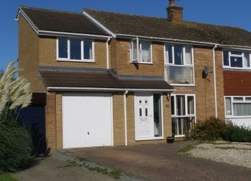 Thumbnail 4 bed semi-detached house to rent in Beech Road, Eynsham, Witney