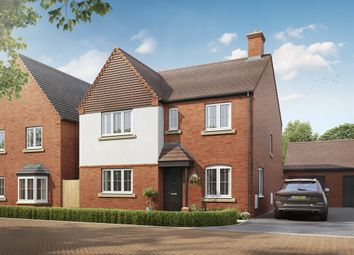 "Thumbnail 4 bed detached house for sale in ""The Mayfair"" at Mentmore Road, Cheddington, Leighton Buzzard"