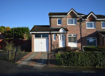 Thumbnail 3 bed semi-detached house for sale in Broomhill Crescent, Alexandria