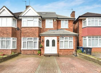Thumbnail 5 bed semi-detached house for sale in Francklyn Gardens, Edgware, Middlesex