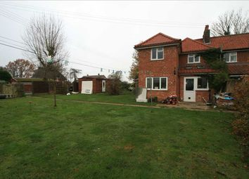 Thumbnail 3 bed end terrace house for sale in Bradfield St. George Road, Bradfield St. Clare, Bury St. Edmunds