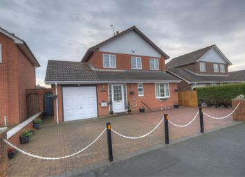 Thumbnail 3 bed detached house for sale in Mordacks Road, Bridlington