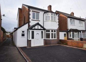 Thumbnail 3 bed detached house for sale in Delamere Road, Hall Green, Birmingham