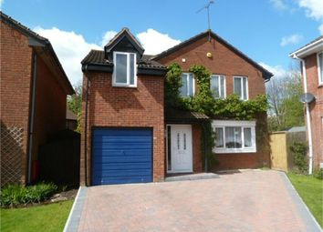 Thumbnail 4 bed detached house for sale in Bosworth Road, Grange Park, Swindon, Wiltshire