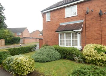 Thumbnail 3 bed end terrace house to rent in Codrington Court, Eaton Socon, St. Neots