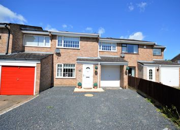 Thumbnail 3 bed town house for sale in Shipton Close, Wigston