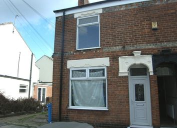 Thumbnail 3 bed end terrace house to rent in Exmouth Street, Hull