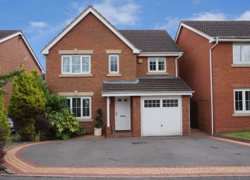 Thumbnail 4 bed detached house for sale in Waterway Court, Birmingham
