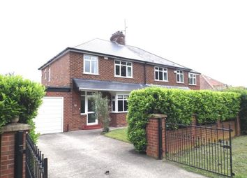 Thumbnail 3 bed semi-detached house for sale in Middleton Lane, Middleton St George, Darlington, County Durham