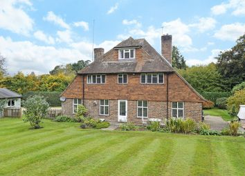 Thumbnail 4 bed detached house for sale in Hurtmore Road, Hurtmore, Godalming