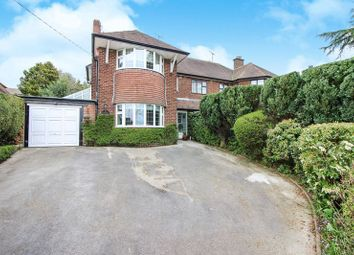 Thumbnail 3 bed semi-detached house for sale in Cheddleton Road, Birchall, Leek, Staffordshire