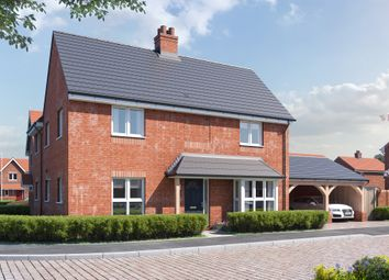 Thumbnail 4 bed detached house for sale in Plot 38, The Aldreth At Birnam Mews, Oak Road, Stratford-Upon-Avon, Warwickshire