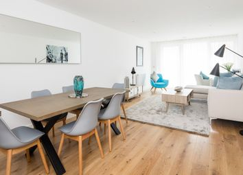 Thumbnail 3 bed flat for sale in Marine Wharf East, Plough Way, Surrey Quays, London